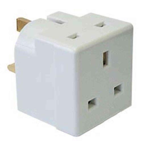 13A 2 Way Plug Adaptor