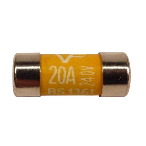 BS1361 20A Fuse | 20 Amp Consumer Unit Cartridge Fuse