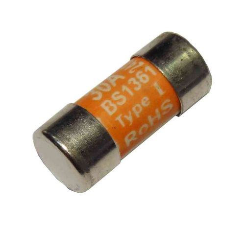 30A BS1361 Fuse | 30 Amp Consumer Unit Cartridge Fuse