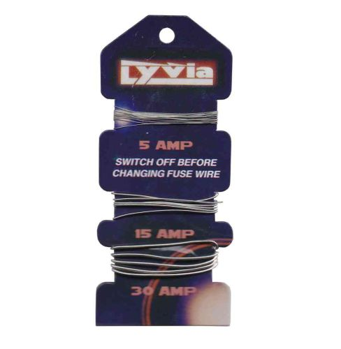 Fuse Wire Card 5A, 15A & 30A