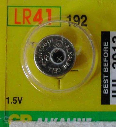 LR41 Battery | 1.5 Volt Alkaline Button Cell