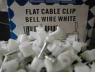 Bell Wire Cable Clips (100 Pack)