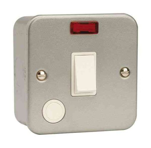 20A Metal Clad Double Pole Switch
