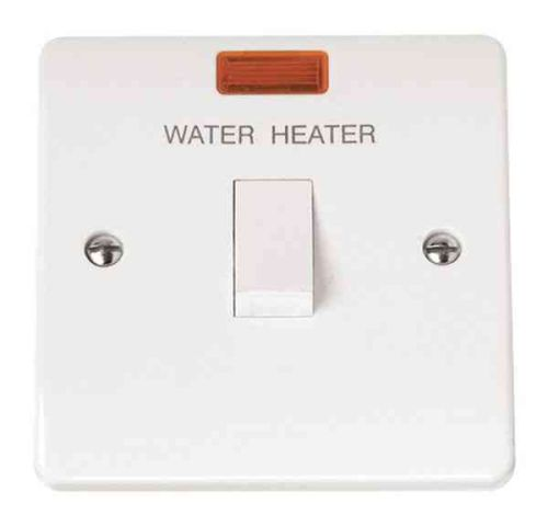 20A Water Heater Switch With Neon