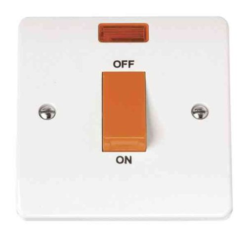 Cooker Switch 45A Double Pole | Click CMA201