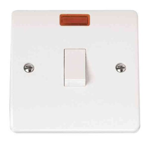 20A Double Pole Switch With Neon | Click CMA623