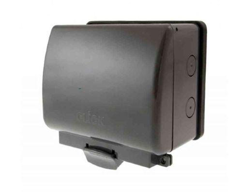 Outdoor 13A Plug Socket 2 Gang IP66