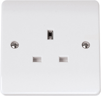 1 Gang 13A Plug Socket | Unswitched