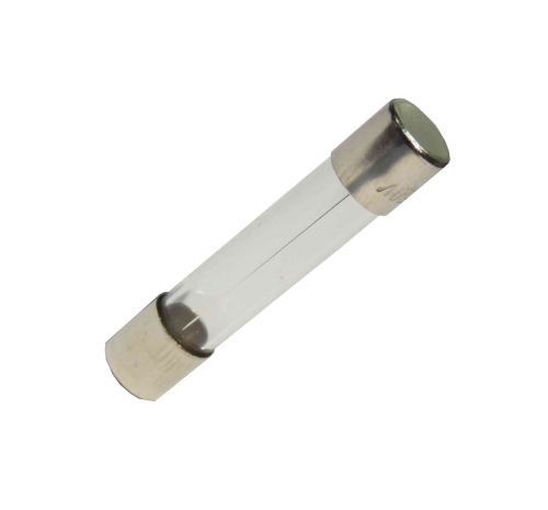 "6A Fast Blow 1-1/4"" Glass Fuse"