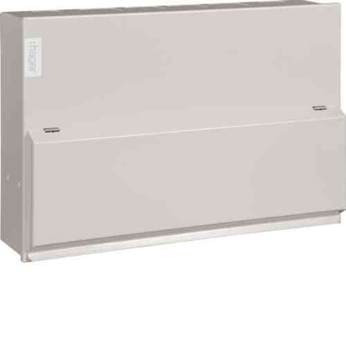 10 Way Metal Hager Consumer Unit Fully Loaded