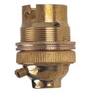 Brass Lamp Holder | 1/2"