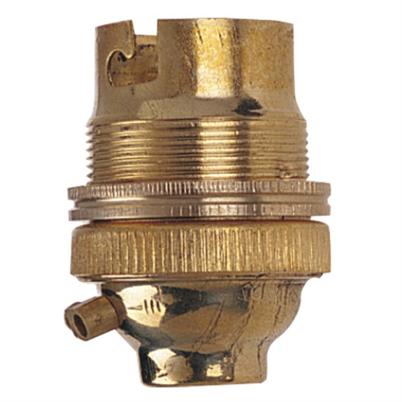 1/2 Inch Brass Lamp Holder