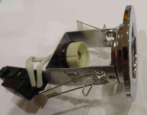 GU10 Mains Voltage Downlight Chrome