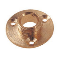 Brass Lamp Holder Backplate | 1/2""