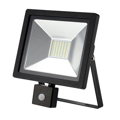 LED PIR Motion Sensor Security Floodlight 30W