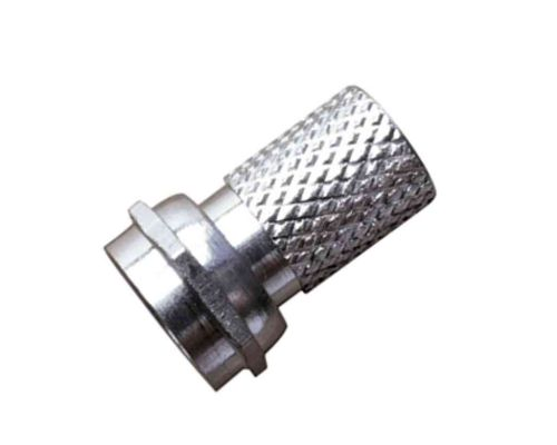 F Connector For Satellite / TV Coaxial Cable