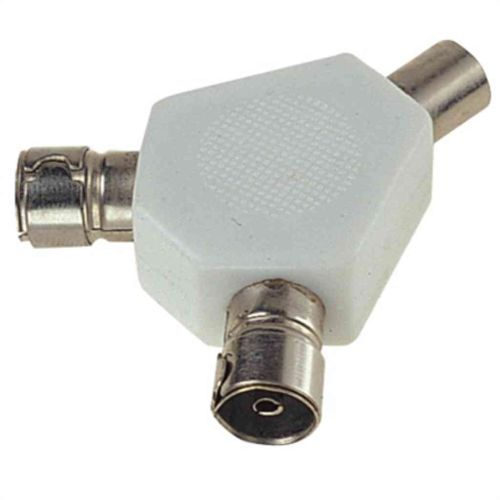 2 Way TV Aerial Cable Splitter
