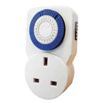 24 Hour 13A Plug In Timer Switch