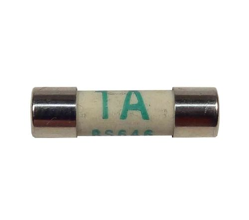 1A Fuse BS646 | 19mm x 5mm | 1 Amp