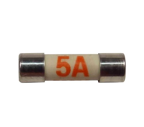 5A Fuse BS646 | 19mm x 5mm | 5 Amp