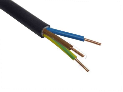 2.5mm 3 Core Tuffwire Outdoor Cable / Per Metre