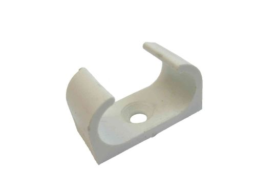 20mm Oval PVC Conduit Clip