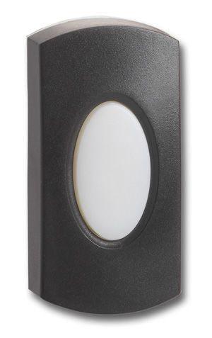 Doorbell Bell Push Button | Black | Unlit