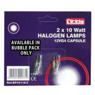 G4 10W Halogen Light Bulb (2 Pack)