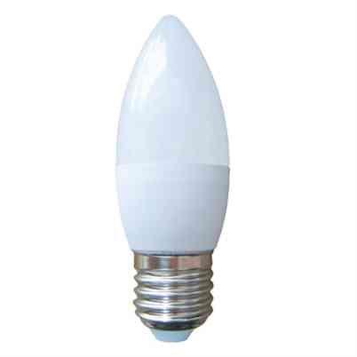 LED Candle Light Bulb 6W Opal ES E27