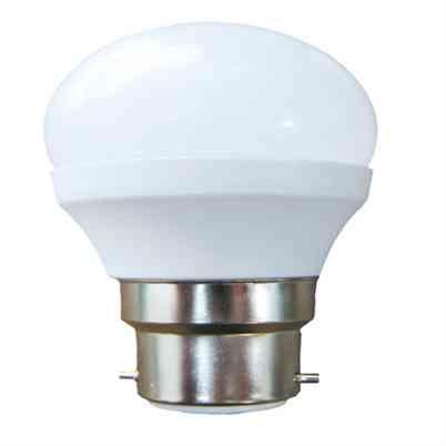 LED Golf Ball Bulb 6W Opal BC B22