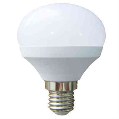LED Golf Ball Light Bulb 6W Opal SES E14