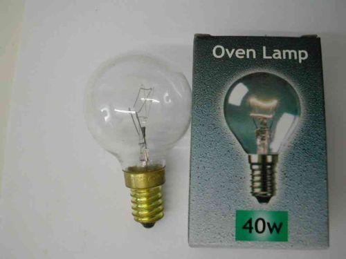 Oven Lamp / Bulb 40W SES 300°C