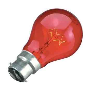Fireglow Light Bulb 60W BC B22