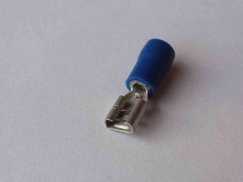 4.8mm Blue Female Spade Connector