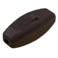 In-line Torpedo Rocker Light Switch   Black