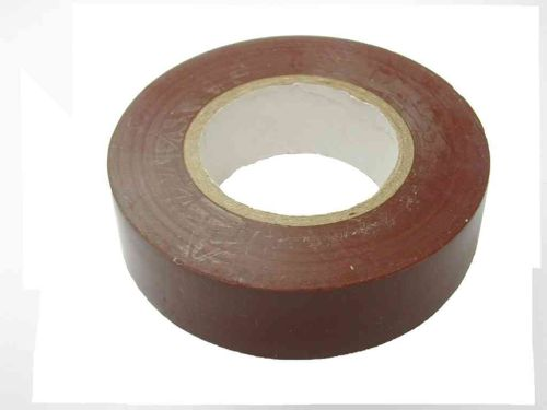 Brown PVC Insulation Tape 19mm x 20m