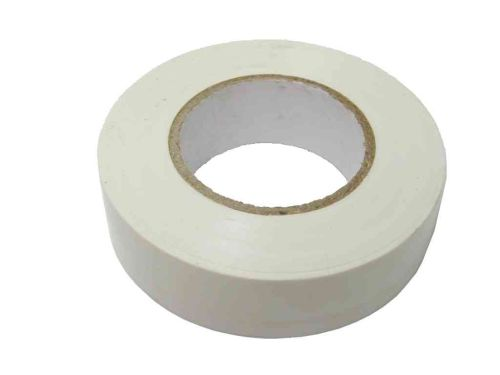 White PVC Electrical Insulation Tape | 19mm x 20m