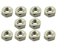Hex Nuts M10 (10mm) 10 Pack