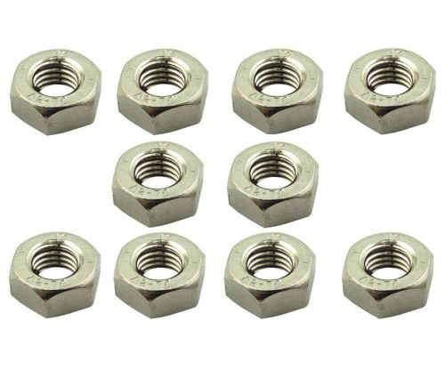 M10 Nuts (10mm) 10 Pack