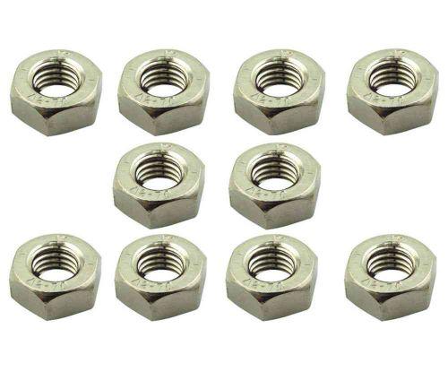 10mm / M10 Hex Nuts Metric Thread (10 Pack)