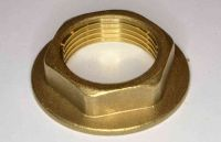 3/4 Inch BSP Brass Flanged Back Nut