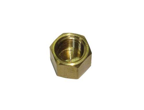 1/8 Inch BSP Brass Cap / Blank Nut