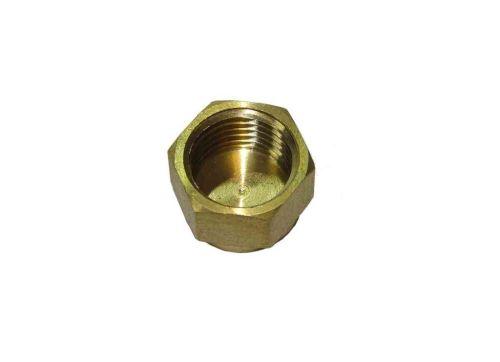 1/4 Inch BSP Brass Cap / Blank Nut