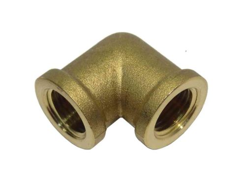 "1/4"" BSP Brass Elbow Female x Female"
