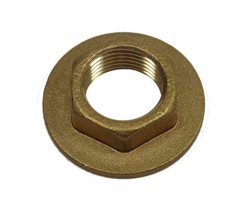 3/8 Inch BSP Brass Flanged Back Nut