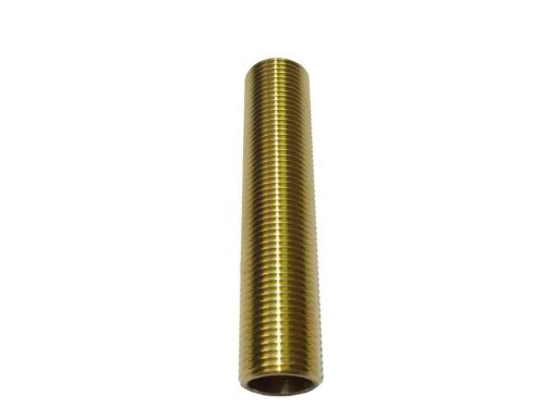 "1/2"" BSP x 4"" Long Brass Running Nipple"
