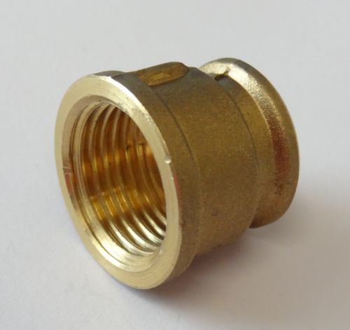 "1/2"" to 3/8"" BSP Brass Reducing Socket"