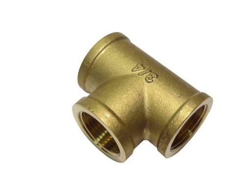 "3/4"" BSP Brass Equal Tee"