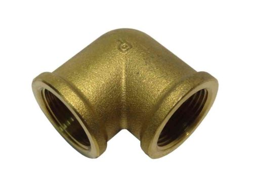 3/4 Inch BSP Brass Elbow | FxF Female x Female
