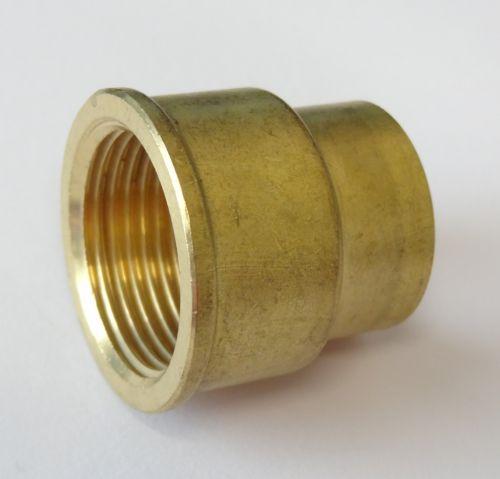 "3/4"" to 1/2"" BSP Brass Reducing Socket"